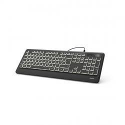 Klaviatura-HAMA-KC-550-podsvetka-USB-s-kabel-cheren