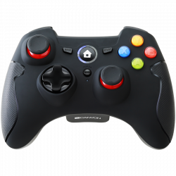 CANYON-CND-GPW6-2.4G-Wireless-Controller-with-Dual-Motor-Rubber-coating-2PCS-AA