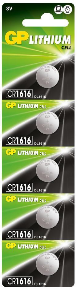 Litieva-butonna-bateriq-GP-CR-1616-3V-5-br.-v-blister-cena-za-1-br.-GP
