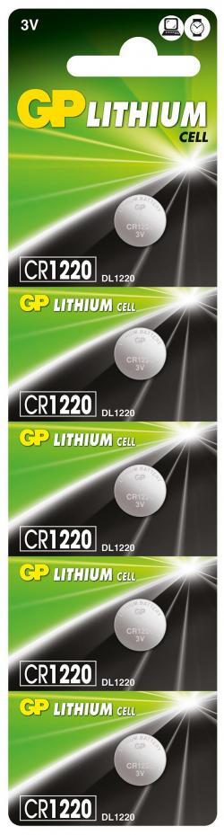 Litieva-butonna-bateriq-GP-CR-1220-3V-5-br.-v-blister-cena-za-1-br.-