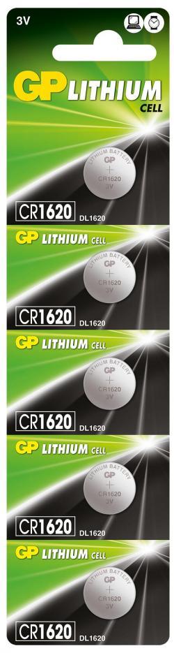 Litieva-butonna-bateriq-GP-CR-1620-3V-5-br.-v-blister-cena-za-1-br.-GP