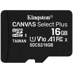 Kingston-16GB-micSDHC-Canvas-Select-Plus-100R-A1-C10-Single-Pack-w-o-ADP