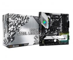 ASROCK-B550M-STEEL-LEGEND-4xDDR4-HDMI-DP-PCIe-3.0-x16-PCIe-2.0-x1-mATX-oem