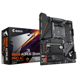 GIGABYTE-B550-AORUS-PRO-AC-WI-FI-Socket-AM4-4-x-DDR4-RGB-Fusion-2.0