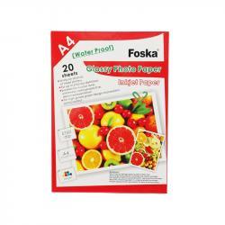 Foska-Foto-hartiq-A4-200-g-m2-glanc-20-lista