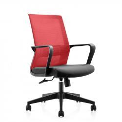RFG-Raboten-stol-Smart-W-damaska-i-mesh-cherna-sedalka-chervena-oblegalka