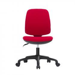 RFG-Detski-stol-Lucky-Black-damaska-chervena-sedalka-chervena-oblegalka