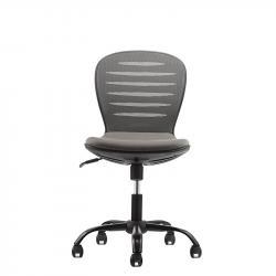 RFG-Detski-stol-Flexy-Black-damaska-i-mesh-siva-sedalka-siva-oblegalka