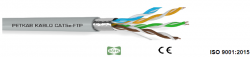 FTP-pach-kabel-cat.5e-4P-26AWG-PVC-siv-305m