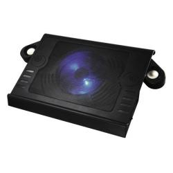 Notebook-Cooler-Hama-Aluminium-Speakers-Black
