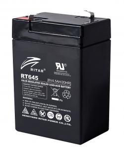 Olovna-Bateriq-RT645-AGM-6V-4.5Ah-70-47-99mm-terminal1-RITAR