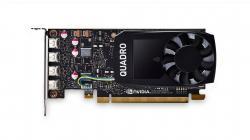 FUJITSU-NVIDIA-Quadro-P1000-4GB-4x-miniDP-PCIe-x16-without-adapter-cables