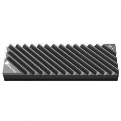 Pasiven-ohladitel-Jonsbo-M.2-SSD-orebren-Siv