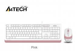 Komplekt-klaviatura-i-mishka-A4TECH-Fstyler-F1010-s-kabel-USB-rozova