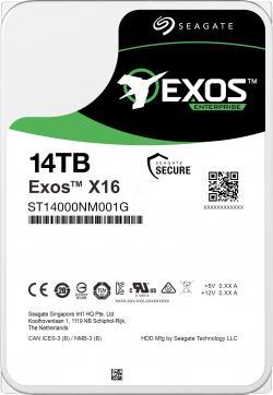 SEAGATE-EXOS-X16-SATA-14TB-Helium-7200rpm-256MB-cache-512e-4kn-Fast-Format-BLK