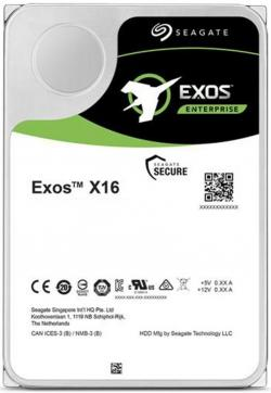 SEAGATE-EXOS-X16-SAS-12TB-7200rpm-256MB-cache-512e-4kn