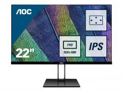 Monitor-21.5-AOC-22V2Q-22V2Q