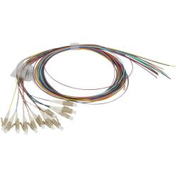 Pigtails-x12-for-fibre-optic-OM-4-50-125-μm-LC-connector-1-m