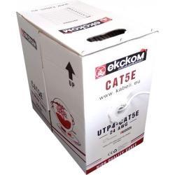 UTP-Cat5e-4x2x0.48-24AWG-CCA