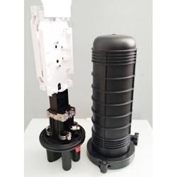 Mufa-vertikalna-D208-9-3-krygli-1-ovalen-2h24-splajs-kaseti-100x340mm-Ø7~Ø18