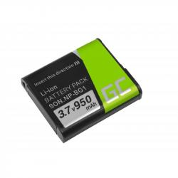 GREEN-CELL-NP-BG1-za-Sony-DSC-H10-H20-H50-HX5-HX10-T50-W50-W70-3.7V-950mAh
