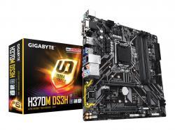 GIGABYTE-H370M-DS3H-LGA1151v2-Socket-4x-DDR4-3x-PCI-E-D-Sub-DVI-HDMI