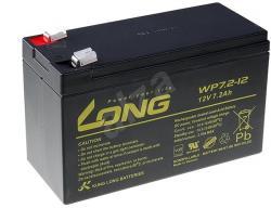 Aкумулаторна батерия Long WP7.2-12A, 12V 7.2Ah F2, за UPS