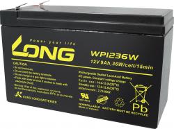 Aкумулаторна батерия Long WP1236W, 12V 9Ah, за UPS