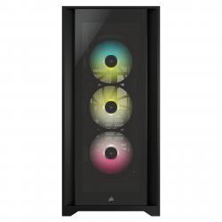 CORSAIR-iCUE-5000X-RGB-Tempered-Glass-Mid-Tower-ATX-PC-Smart-Case-Black