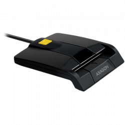 Compact-desktop-USB-contact-Smart-card-ID-card-reader-with-long-fixed-cable.