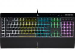 CORSAIR-K55-RGB-PRO-Gaming-Keyboard-Backlit-Zoned-RGB-LED-Rubberdome