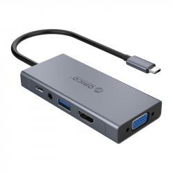 Orico-Docking-Station-Type-C-Power-Distribution-60W-HDMI-Type-C-x-1-USB3.0-x-1-VGA