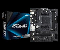 ASROCK-A520M-HVS-AM4