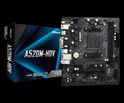 ASROCK-A520M-HDV-AM4