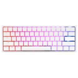 Gejmyrska-mehanichna-klaviatura-Ducky-One-2-Mini-V2-White-RGB-Kailh-BOX-Red