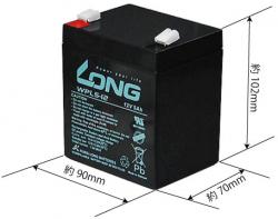 Akumulatorna-bateriq-Long-WPL5-12-F2-12V-5Ah