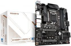 Dynna-platka-GIGABYTE-W480M-VISION-W-4-x-DDR4-socket-1200