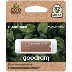 GOODRAM-UME3-32GB-USB-3.0-Flash-Drive-brown-colour