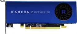 FUJITSU-AMD-Radeon-Pro-WX-2100-2GB-Connectors-1x-DP-2x-mini-DP-PCIe-x16