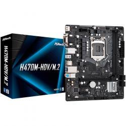 ASROCK-Main-Board-Desktop-H470-M2-S1200-2xDDR4-1xPCIe-x16-1xPCI-Ex1-4