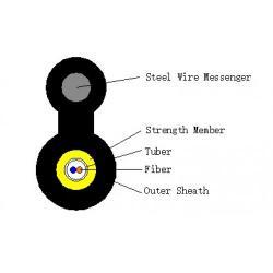 FTTH-2F-M-TPU-round-stomaneno-noseshto-vyzhe-edna-tuba-G657A2-LSZH-1km