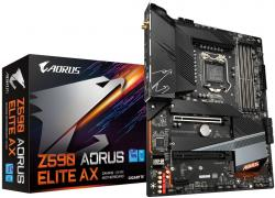 GIGABYTE-Z590-AORUS-ELITE-AX-LGA1200-DDR4-6xSATA-2xM.2-WiFi-ATX-MB