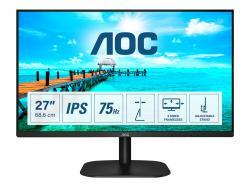 AOC-27B2DA-27inch-IPS-FHD-1920x1080-16-9-250nits-75Hz-1000-1-4ms-HDMI1.4