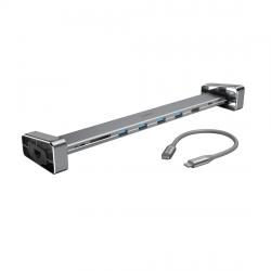 Doking-stanciq-9-v-1-HAMA-200103-4-x-USB-A-USB-C-HDMI-trade-LAN-SD-microSD-Siv