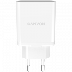 Canyon-Wall-charger-with-1*USB-QC3.0-18W-Input-110V-240V-Output-Output-