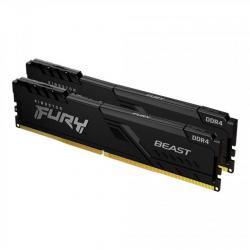 Pamet-Kingston-FURY-Beast-Black-8GB-2x4GB-DDR4-PC4-21300-2666MHz-CL16