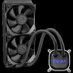 EVGA-CLC-240mm-All-In-One-RGB-LED-CPU-Liquid-Cooler-2x-FX12-120mm-PWM-Fans