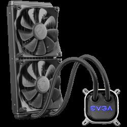 EVGA-CLC-280mm-All-In-One-RGB-LED-CPU-Liquid-Cooler-2x-FX13-140mm-PWM-Fans-