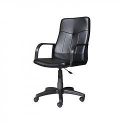 Raboten-stol-Clerk-ekokozha-cheren