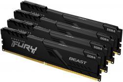 Pamet-Kingston-FURY-Beast-Black-32GB-4x8GB-DDR4-PC4-28800-3600MHz-CL17-KF436C17BBK4-32